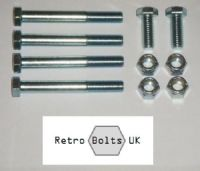 Front Anti Roll Bar / Bumper Bracket Bolt Set -  MK2 Escort